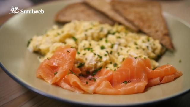 De perfecte scrambled eggs