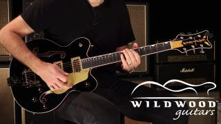 Wildwood Guitars • Gretsch G6636T-BLK Player's Edition Falcon • SN: JT19010409