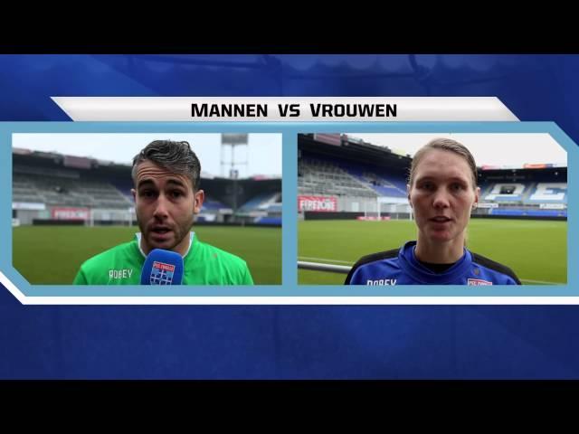 PEC Zwolle Mannen vs PEC Zwolle Vrouwen
