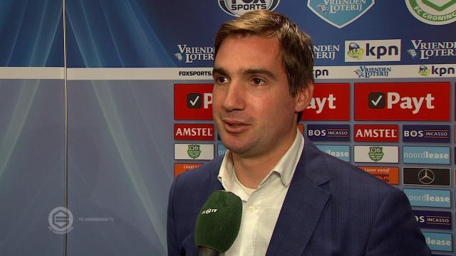 Goran Lovre na ruim zeven jaar weer terug in Groningen