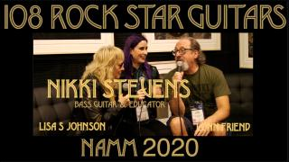 108 ROCK STAR GUITARS AT NAMM 2020: Nikki Stevens