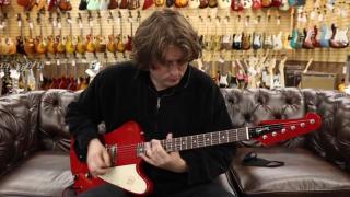 Guitar of the Day:  2004 Gibson Custom Shop Firebird I Cardinal Red