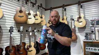 Alamo Music Center Live Stream | How to Safely Disinfect Your Guitar | Kill Corona without killing the finish.