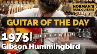 1975 Gibson Hummingbird