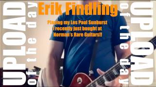 Erik Findling: Playling my Les Paul from Norm's