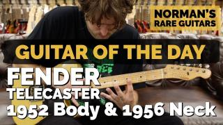 Guitar of the Day: Fender Telecaster 1952 Body & 1956 Neck