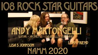 108 ROCK STAR GUITARS AT NAMM 2020: Andy Martongelli