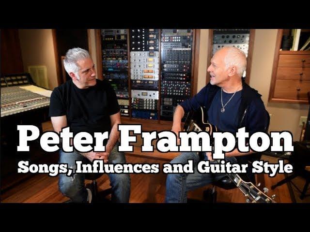 Rick Beato with Peter Frampton