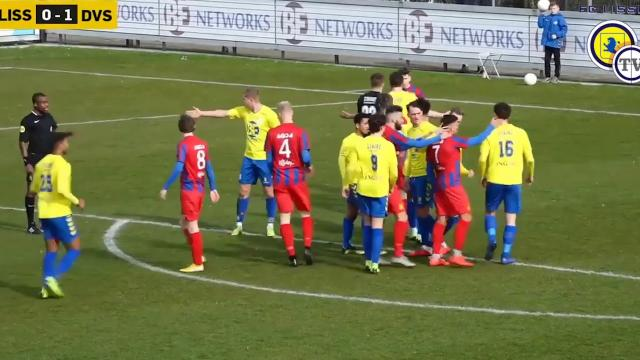 FC Lisse - DVS'33 Ermelo 1-1