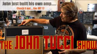 John just built his own amp.....from scratch....!