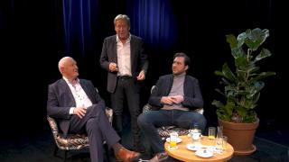 Ondernemerslounge (RTL7) | 3.8.09 | Goocheltruc van Hans Kazàn