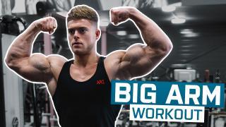 BIG ARM WORKOUT | RICHARD DUCHON