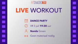 Friday Night Dance Party met Nanda Groen