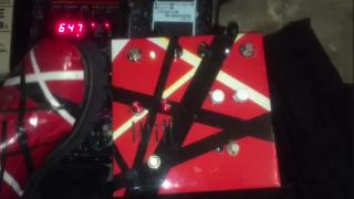 EVH Pedal built by AGN contributor (and, great player...!!), Frank Hohl