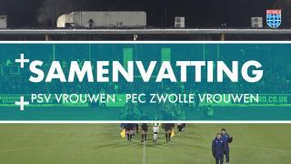 Samenvatting PSV Vrouwen - PEC Zwolle Vrouwen