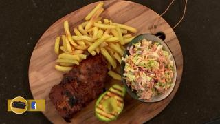 Spareribs met friet