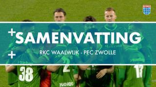 Samenvatting RKC Waalwijk - PEC Zwolle