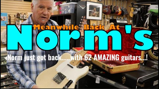 Meanwhile Back At Norm's: May 8: The Dallas Guitar Show Haul_Pt 2