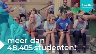 Bruisende studentenstad Zwolle