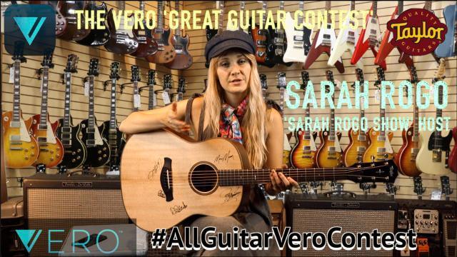 Sarah Rogo:  how to enter the Vero Great Guitar Contest