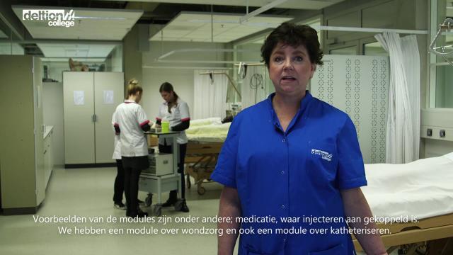 Wat houdt de beroepsmodule Verpleegtechnisch Handelen in?