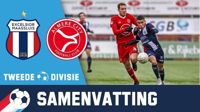 Excelsior Maassluis - Jong Almere City