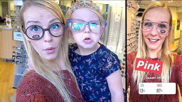 JULLIE BEPALEN MiJN NiEUWE BRiL  ( via instagram) | Bellinga Familie Vloggers #1153 #DeBellingaS #BellingaTv #FamilieVloggers.nl #FamilyVloggers.com #Youtube #Google