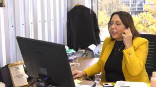 Ondernemerslounge (RTL7) | 2.4.03 | Ilsa Halbesma-Schaaij van ClikQ