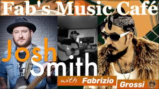 Fab's Music Café: Fab interviews Blues guitar legend, Josh Smith