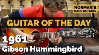 1961 Gibson Hummingbird