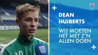 Dean Huiberts: 'Wij moeten het met z'n allen doen.'