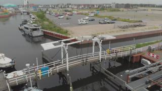 De vissersbrug in Harderwijk komt terug