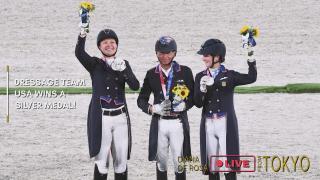 EQUUS TV - DRESSAGE HUB Road to TOKYO - USA Wins Silver Episode 5