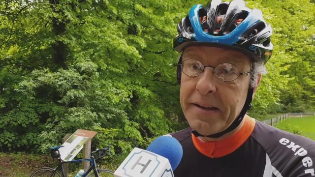 Peter van der Kemp gaat de Mont Ventoux beklimmen voor stofwisselingsziekte