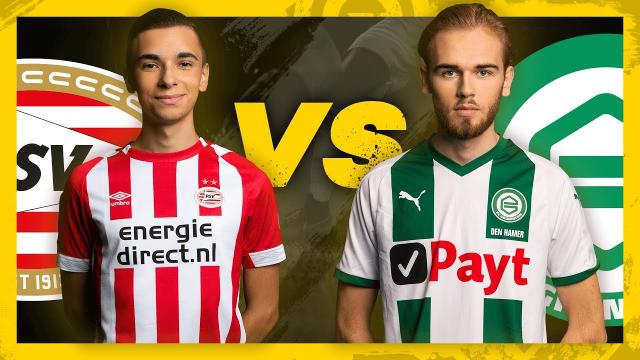 eDivisie PSV - FC Groningen