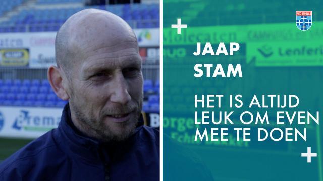 Jaap Stam: 'Het is altijd leuk om even mee te doen.'