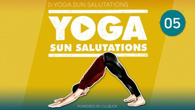 Yoga Sunsalutations 5