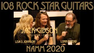 108 ROCK STAR GUITARS AT NAMM 2020: Jack Gibson, bass player, EXODUS