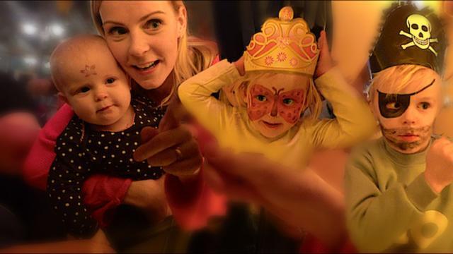 KiNDEREN GAAN SCHMiNKEN  | Bellinga Familie Vloggers #1241