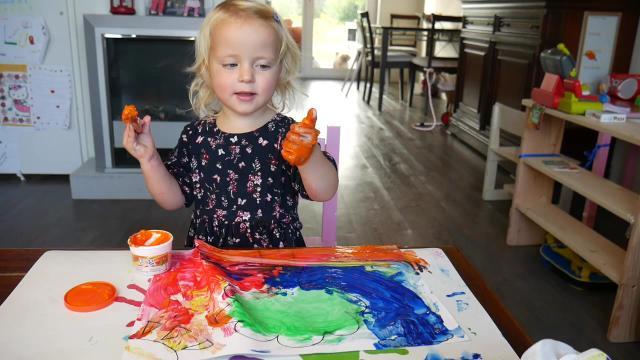 NEDERLANDS & ENGELS LEREN MET KLEUREN   Lucilla Bellinga Vlog #42