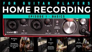 Home Recording: Episode 1: The Basics