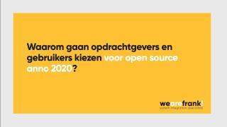 WeAreFrank! - Waarom kiezen bedrijven voor WeAreFrank!