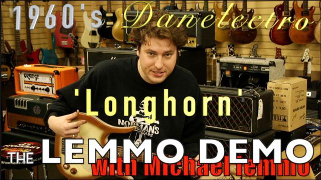 1960's Danelectro 'Longhorn' baritone guitar