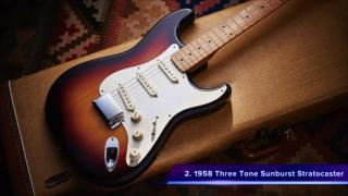 Top Five FENDER STRATOCASTERS Of All Time.