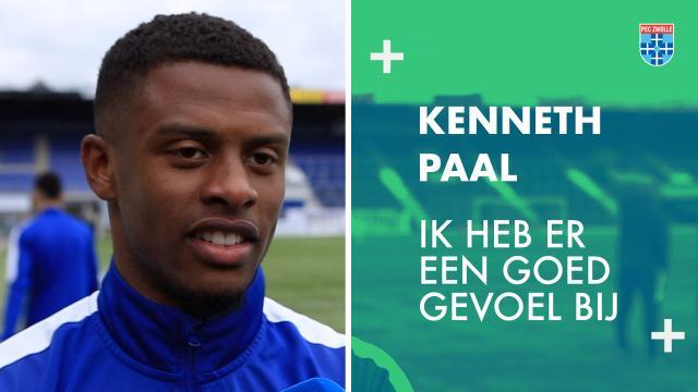 Kenneth Paal: 'Ik heb er een goed gevoel bij.'