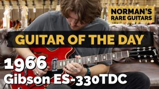 Norman's Rare Guitars | Guitar of the Day | 1966 Gibson ES-330TDC
