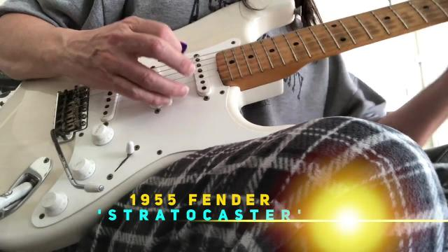 Wednesday: 1955 Fender Stratocaster