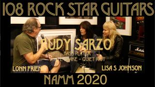 108 ROCK STAR GUITARS AT NAMM 2020: Rudy Sarzo: