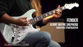 Fender Kenny Wayne Shepherd Signature Stratocaster A Sonic Blue Blues Machine