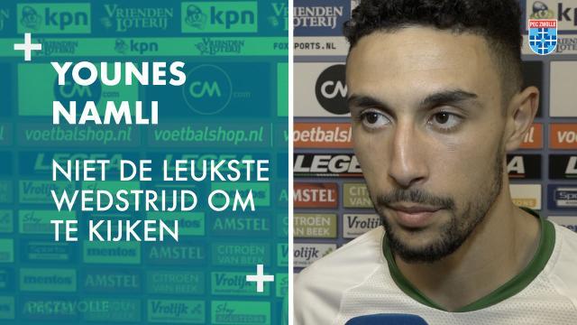 Younes Namli: 'Niet de leukste wedstrijd om te kijken'
